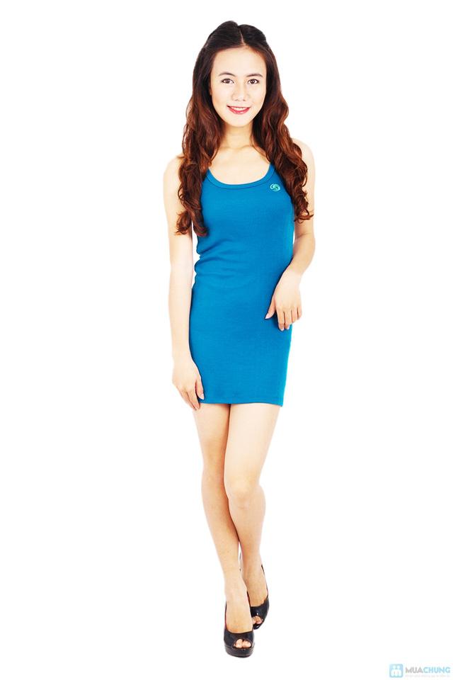Đầm thun ôm body - 1