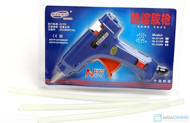 Súng bắn keo Gluegun HL-E20W + 3 keo nến - 2