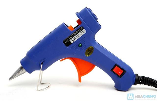 Súng bắn keo Gluegun HL-E20W + 3 keo nến - 1