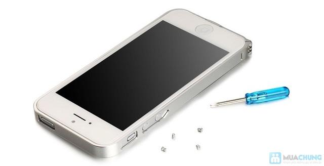 Combo viền nhôm iphone 4/4S và nút home nhôm - 8