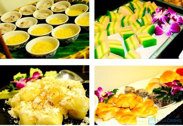 Buffet Gánh dành cho buổi trưa với hơn 40 món ăn đặc sắc 3 miền - Khách sạn Bông Sen - 8