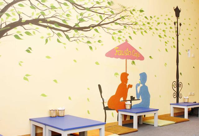 Thưởng thức Matcha - nước hoa quả tại Fauto Cafe - 7