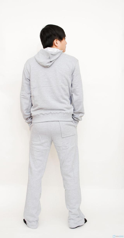 bộ đồ nỉ thể thao cao cấp cho nam - 15