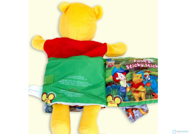 Sách vải kèm rối tay cho bé - 11