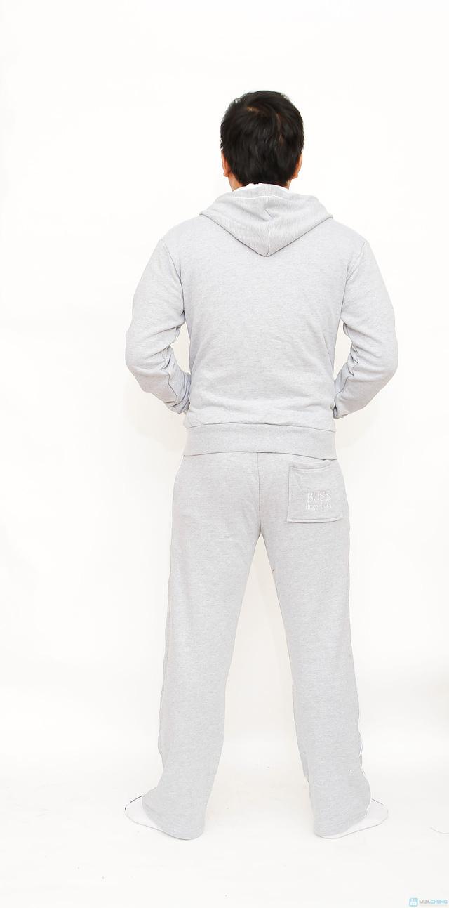 bộ đồ nỉ thể thao cao cấp cho nam - 2