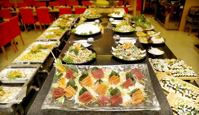 buffet lẩu bò Kendo tại royal city - 7