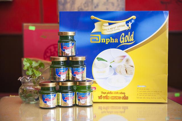 1 hộp yến sào Anpha nhân sâm Gold + 1 hộp Anpha Gold đường - 2