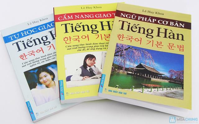 Cẩm nang giao tiếp tiếng Hàn + Tự học giao tiếp tiếng Hàn + Ngữ pháp cơ bản tiếng Hàn. Chỉ với 112.000đ - 14