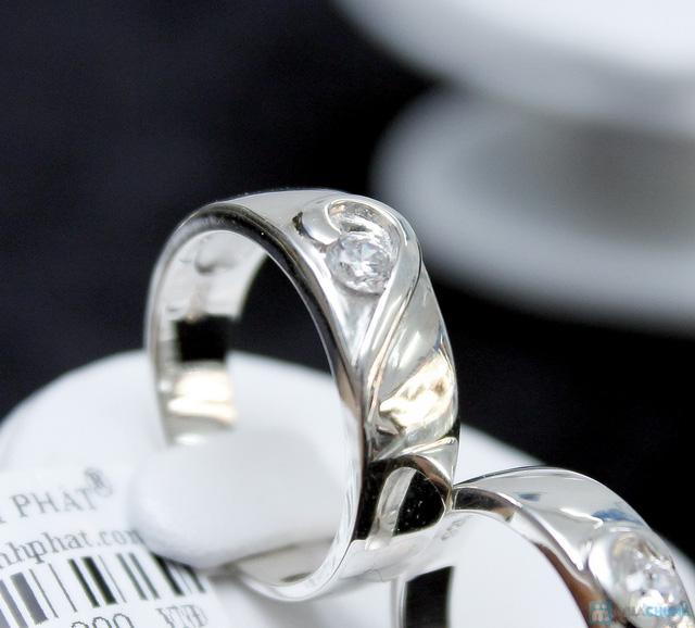 Nhẫn đôi bạc cao cấp Thành Phát - 24