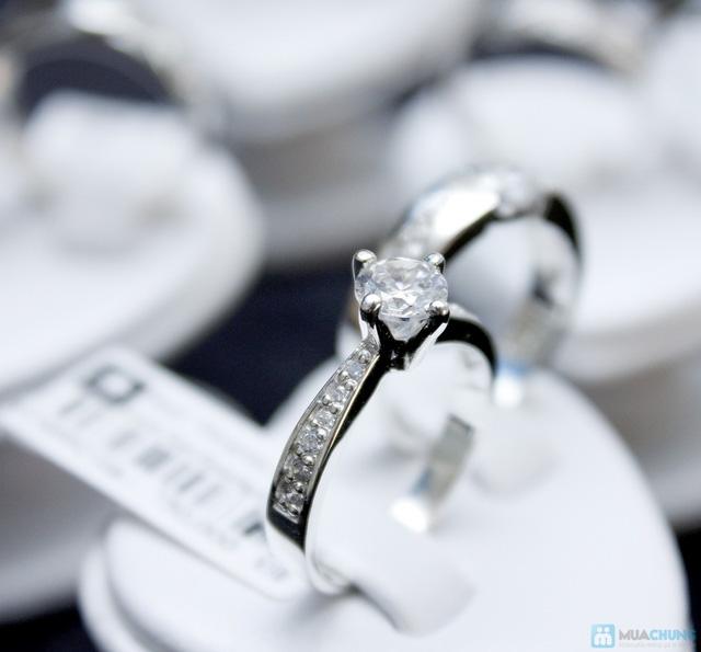 Nhẫn đôi bạc cao cấp Thành Phát - 2