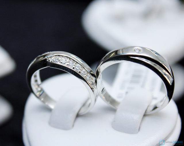 Nhẫn đôi bạc cao cấp Thành Phát - 21