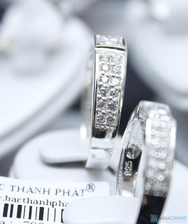 Nhẫn đôi bạc cao cấp Thành Phát - 7