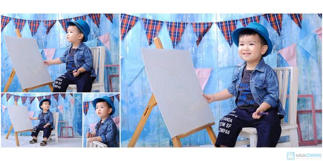 Chụp ảnh và in lịch cho bé tại Phạm studio - 18