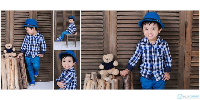 Chụp ảnh và in lịch cho bé tại Phạm studio - 16