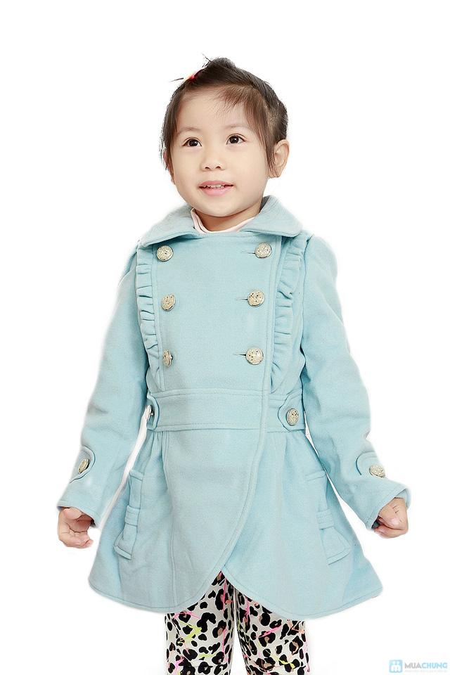 Áo dạ 2 lớp cho bé gái - 2