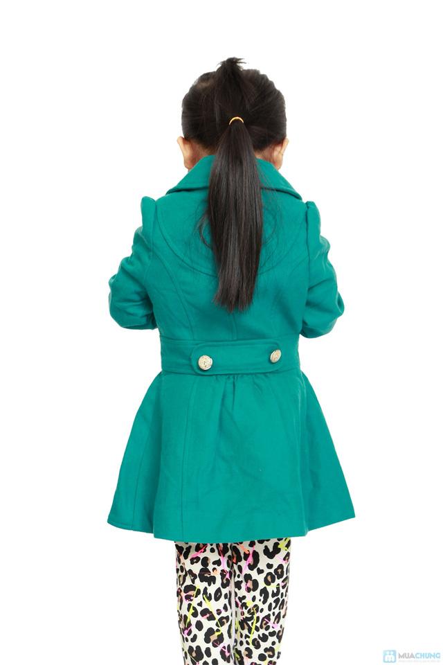 Áo dạ 2 lớp cho bé gái - 7