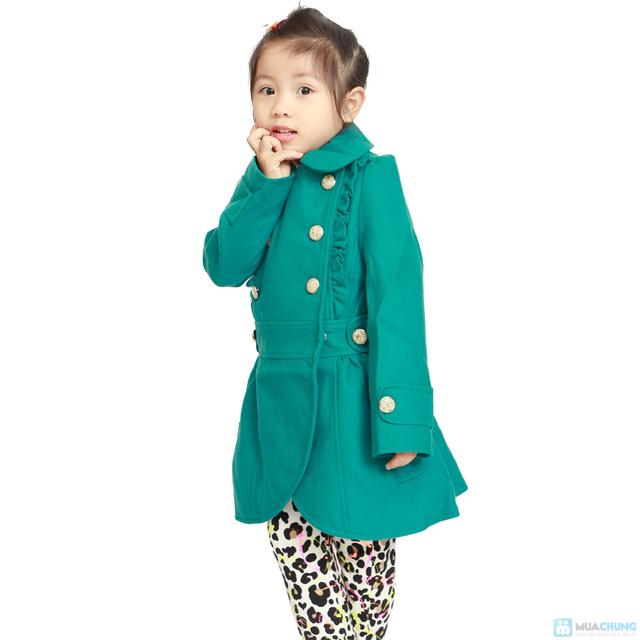 Áo dạ 2 lớp cho bé gái - 6