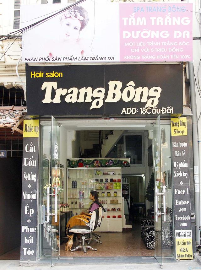 Cắt + Nhuộm/ Uốn/ Ép Hair Salon Trang Bông - 1
