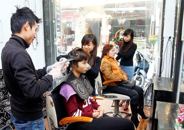 Cắt + Nhuộm/ Uốn/ Ép Hair Salon Trang Bông - 3