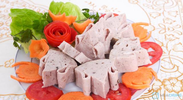 1kg giò bò Ước Lễ làng Việt Xanh (100% không hàn the) - 7