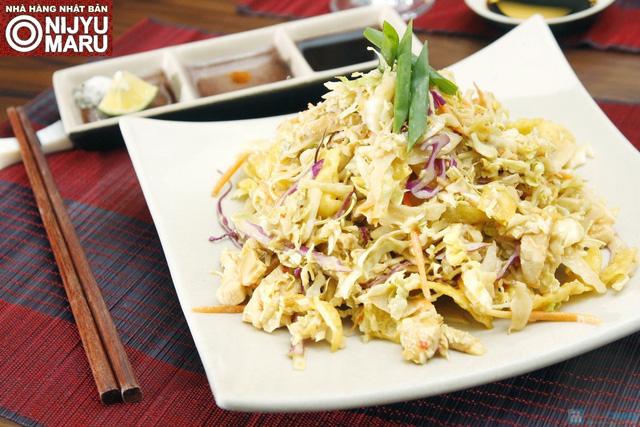 set menu cho 4 người ăn món Nhật tại nhà hàng Niju Maru 35 Quang Trung - 1