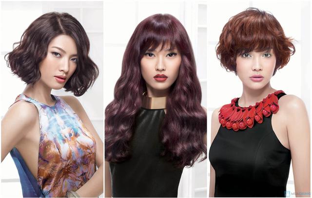 Trọn gói làm tóc rộn ràng chào Năm mới 2014 Salon Holywood - 1