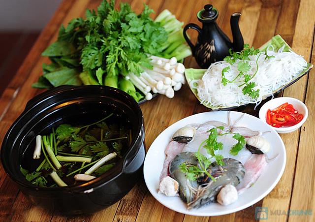 Set ăn: 01 món lẩu + 01 món phụ tự chọn dành cho 2 -3 người tại nhà hàng Bún Và Lẩu V  - 15