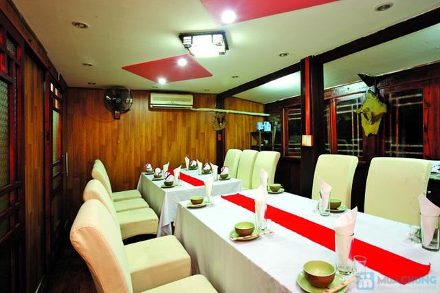 Khu du lịch sinh thái V-Star Resort Hòa Bình. Phòng Deluxe cho 02 người kèm ăn sáng và 01 bữa ăn chính. - 7