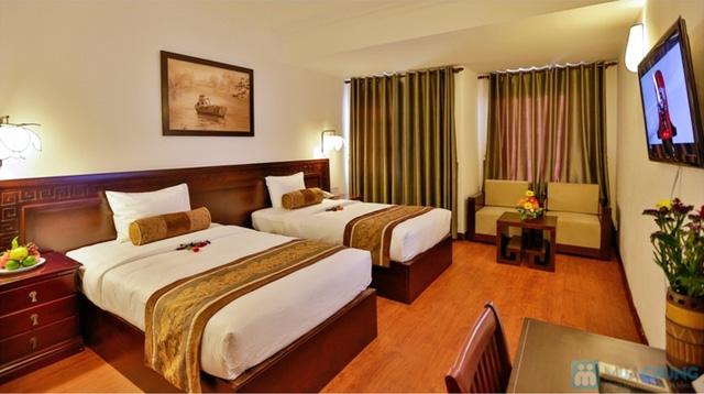 Không gian nghỉ dưỡng thanh bình tại Khách sạn Hội An Pacific 4*. Phòng Superior City View cho 2 người kèm buffet sáng.  - 3
