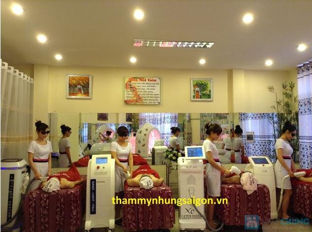 Triệt lông không đau Công nghệ Elight 5G+ 2014 Thẩm mỹ Nhung Sài Gòn - 1