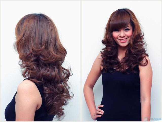 Trọn gói tóc Đẹp bằng thuốc Loreal tặng hấp Ozone Nhung Tresses Hair Salon - 5