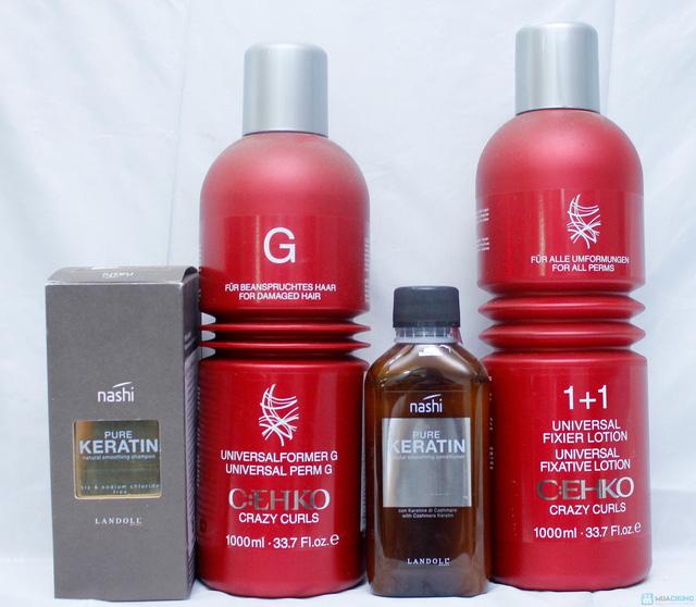 Trọn gói tóc Đẹp bằng thuốc Loreal tặng hấp Ozone Nhung Tresses Hair Salon - 4