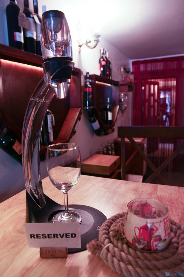 Hào sữa + Bò thanh chấm wasabi + Rượu vang trắng cho 2 người tại La Passion Wine Bar - 2