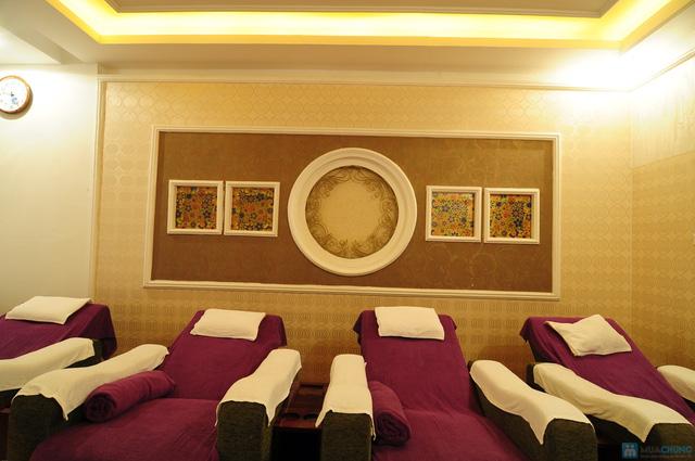 Foot Massage tinh dầu, Chườm đá nóng ngải cứu lưng tại Cleopatra Foot Massage - 2