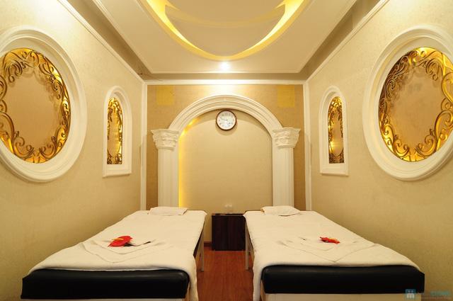 Foot Massage tinh dầu, Chườm đá nóng ngải cứu lưng tại Cleopatra Foot Massage - 3
