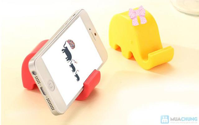 02 đế điện thoại hình chú voi dễ thương - 8