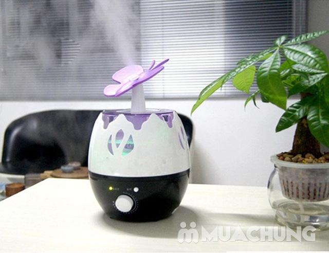 Máy xay sinh tố công suất lớn Nhật Bản, máy phun sương tạo ẩm hình hoa, máy xay