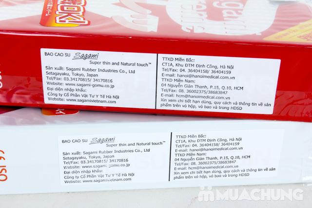 2 hộp bao cao su Sagami Nhật Bản - 4