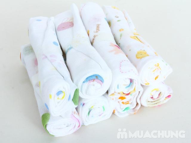 Khăn sữa xuất Nhật 16 chiếc - 2