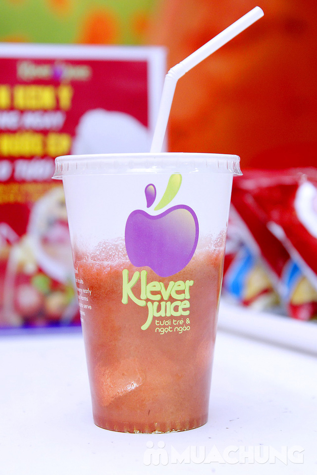 2 ly nước ép hoa quả tại hệ thống Klever Juice - 2