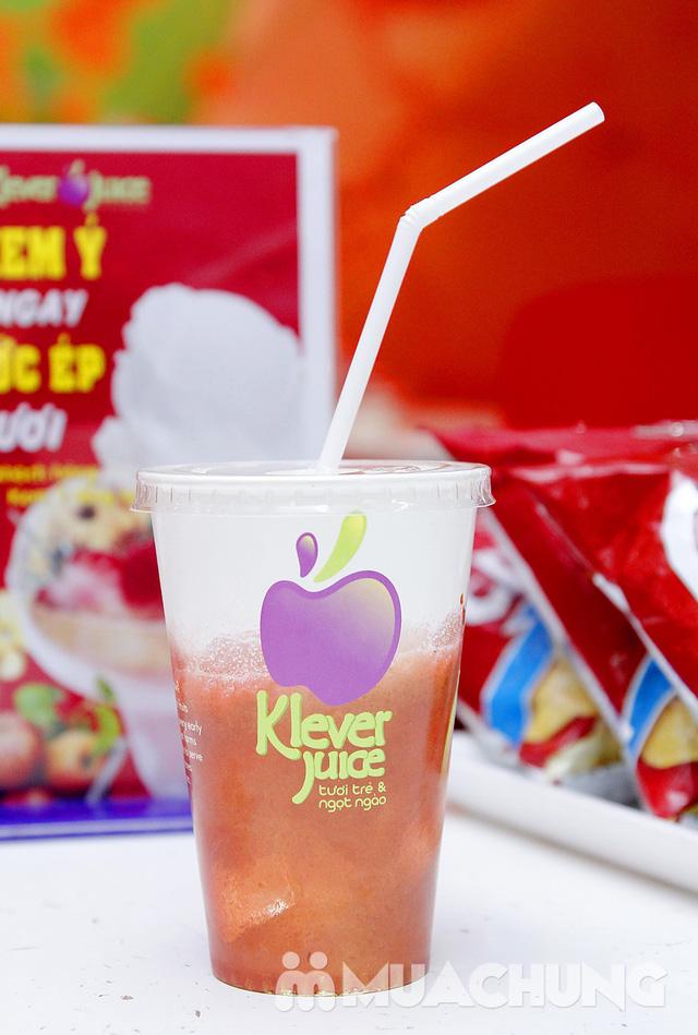 2 ly nước ép hoa quả tại hệ thống Klever Juice - 1