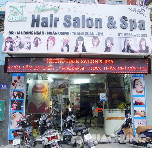 Gói làm tóc cao cấp Nhung Hair Salon & Spa - 20