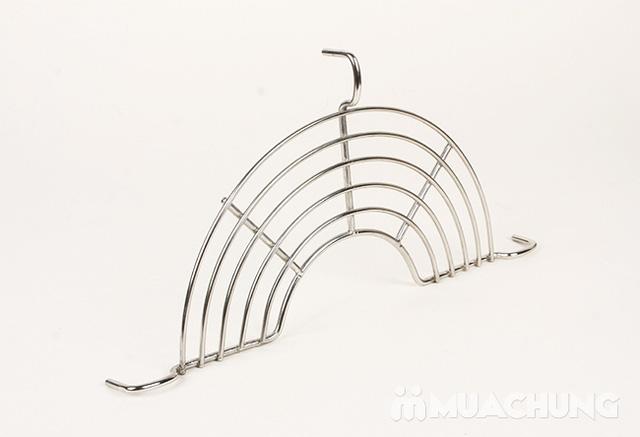 2 vỉ gác chảo rán bằng inox (phi 24 - 26cm) - 6