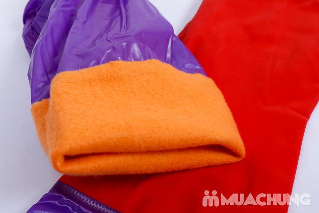2 đôi găng tay cao su lót nỉ cho mùa lạnh - 6