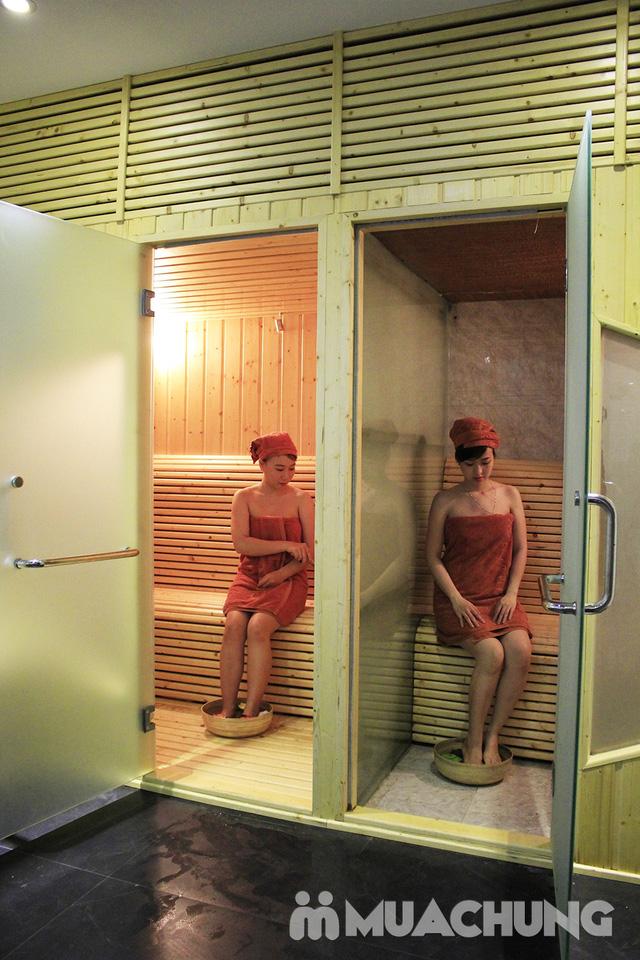 Xông hơi + Tắm dưỡng tẩy tế bào chết + Ủ dưỡng toàn thân + Đắp mặt nạ tại Sen Spa - 3