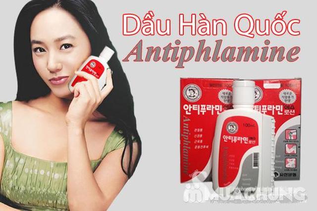 Dầu nóng xoa bóp Antiphlamine Hàn Quốc (100ml)  - 2