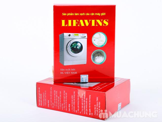 2 Hộp bột tẩy lồng máy giặt Lifavins - 2