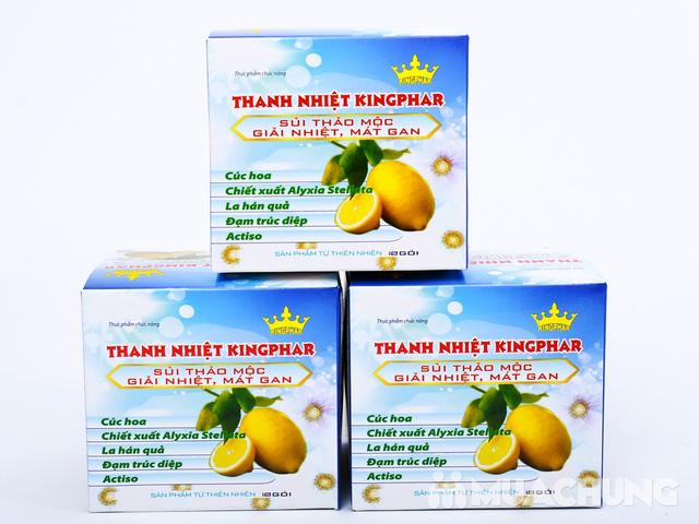 3 hộp trà thanh nhiệt Kingphar (12 gói/ 1 hộp) - 2