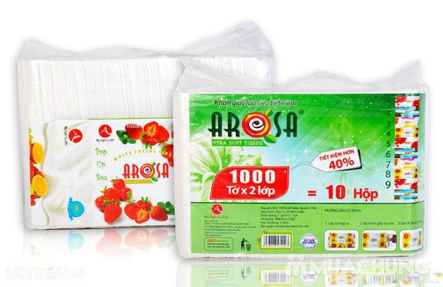 Khăn giấy Arosa 1000 tờ - 1
