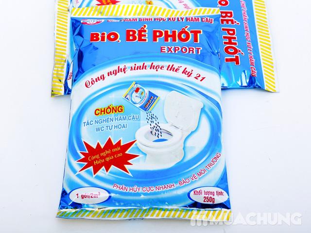 2 gói Bio bể phốt công nghệ sinh học + 2 gói bột thông cống Tiktak - 4